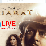 bharat movie cast on social media session'