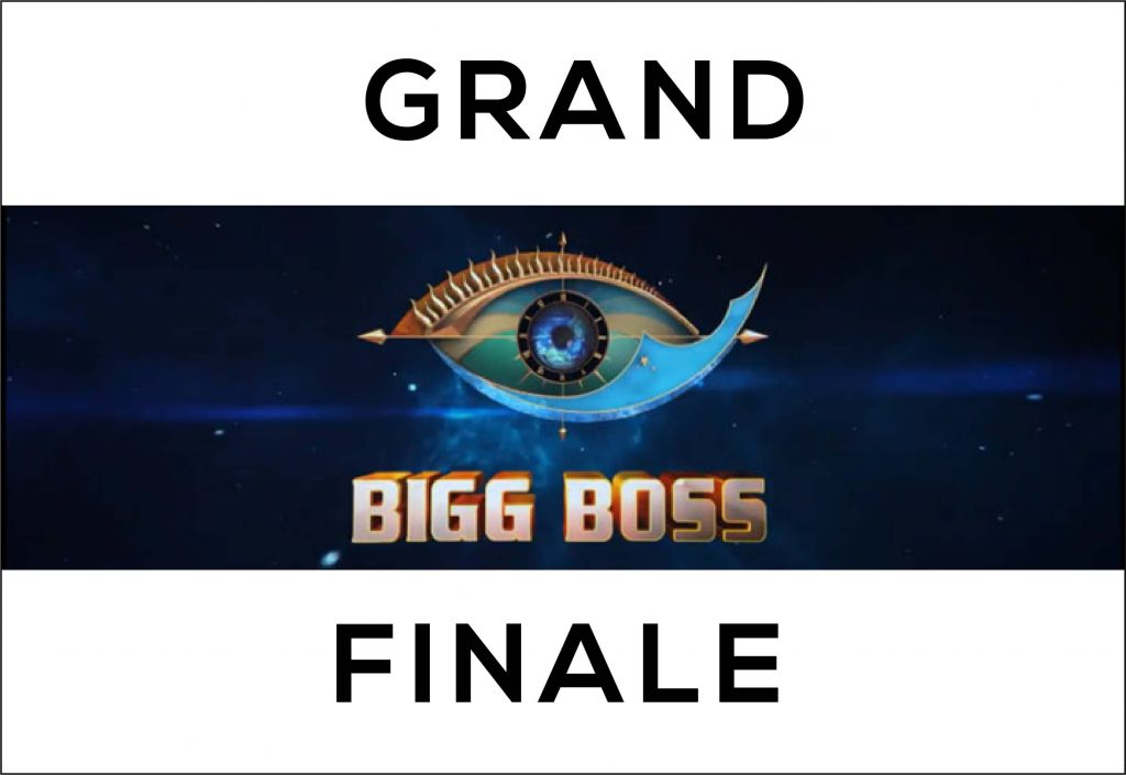 Grand Finale Bigg Boss Tamil 3