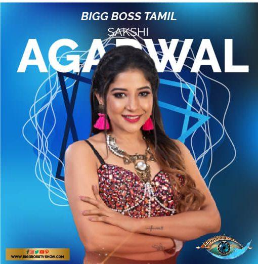 Sakshi Agarwal bigg boss tamil 3
