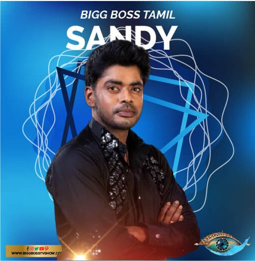 sandy bigg boss tamil 3
