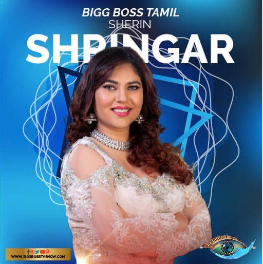sherin shringar bigg boss tamil 3