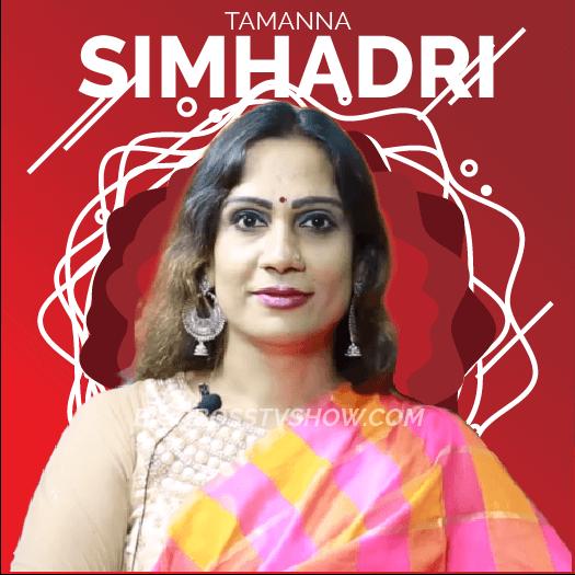 Tamanna Simhadri Bigg boss telugu 3