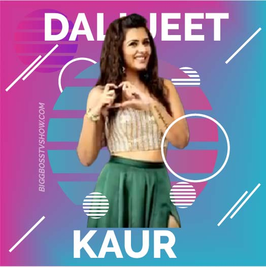 dalljeet kaur bigg boss 13 contestant