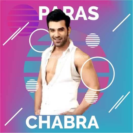 paras chhabra bigg boss 13 contestant