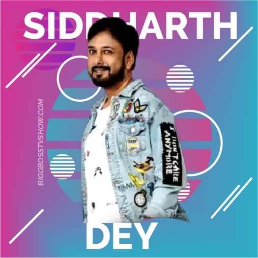 siddharth dey bigg boss 13 contestant