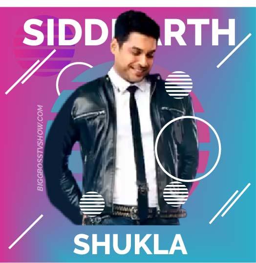 siddharth shukla bigg boss 13 contestant