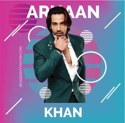 arhaan khan bigg boss 13