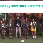 Bigg Boss 13 November 2 2019 Written Update