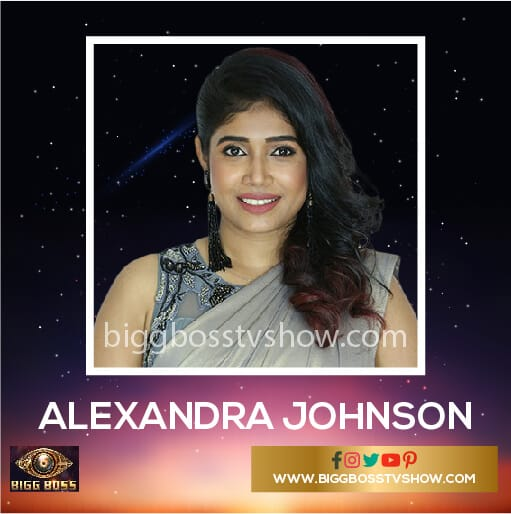 Alexandra Johnson Bigg Boss Malayalam 2 Contestants