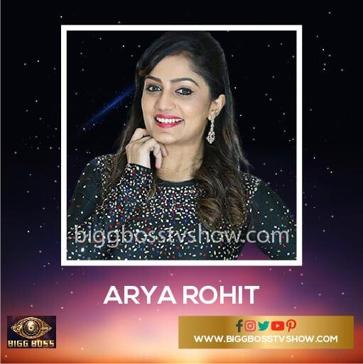 Arya Rohit Bigg Boss Malayalam 2 Contestants