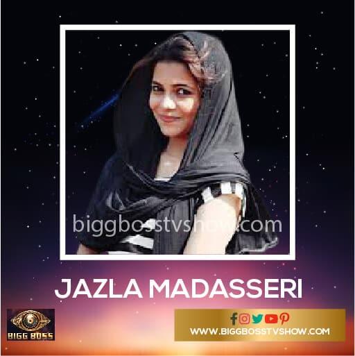 Bigg Boss Malayalam 2 Contestants Jazla Madassari