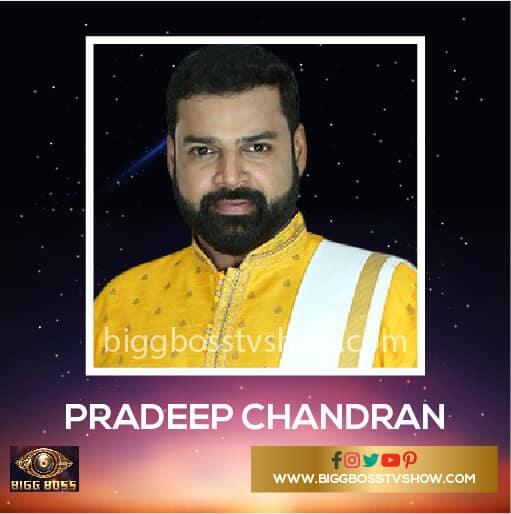 Pradeep Chandran Bigg Boss Malayalam 2 Contestants