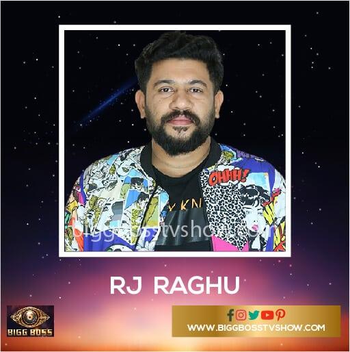 RJ Raghu Bigg Boss Malayalam 2 Contestants