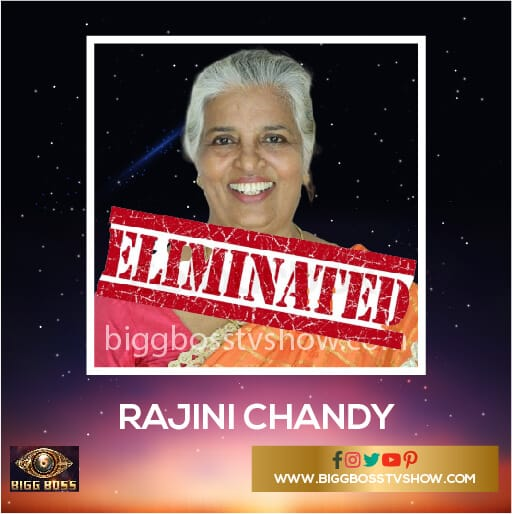 Rajini Chandy Eliminated Bigg Boss Malayalam 2 Contestants