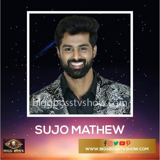 Sujo Mathew Bigg Boss Malayalam 2 Contestants