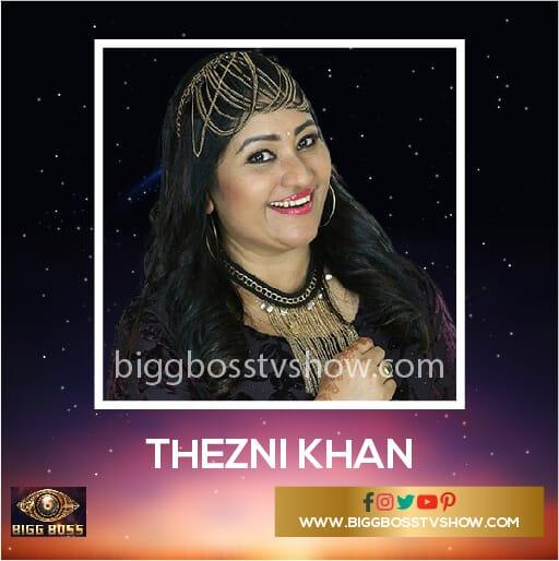 Thezni Khan Bigg Boss Malayalam 2 Contestants