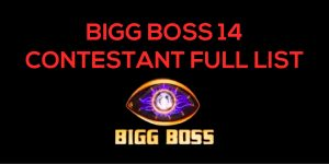 BIGG BOSS 14 CONTESTANT FULL LIST
