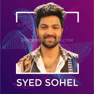 syed sohel bigg boss telugu 4 contestants