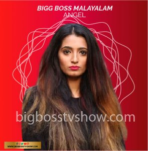 bigg boss malayalam 3 contestant Angel